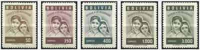 Timbres Bolivie 381/5 ** lot 22360