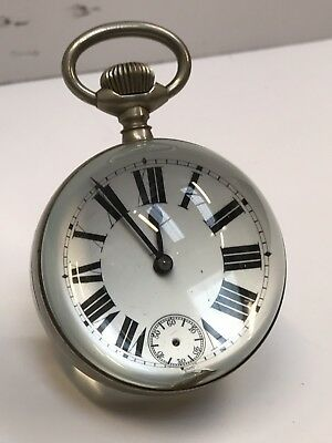 Magnified Glass Oversized Pocket Desk Clock Open to offers.