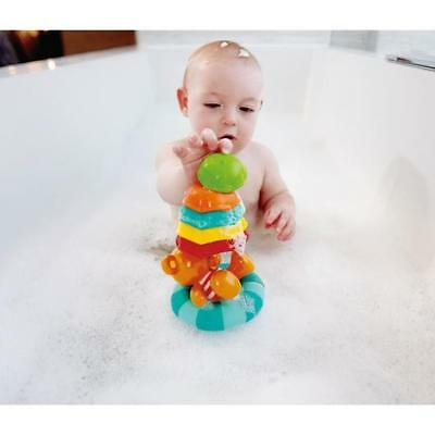 NEW Hape Little Splashers Teddy Umbrella Stackers - Kids Bath Water Toy Bathtime