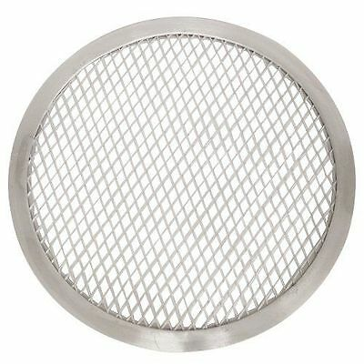 Thunder Group ALPZ12 Seamless-Rim Aluminum Pizza Screen, 12 Inch New