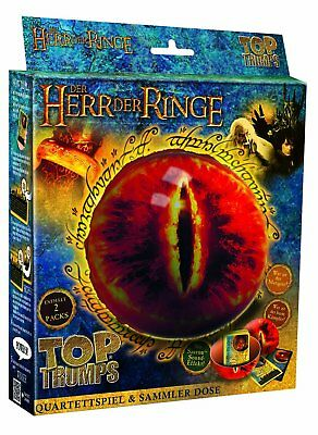 Winning Moves 61564 - Top Trumps - Lord of the Rings Saurons Eye Tin