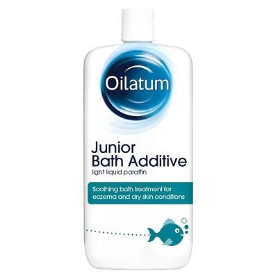 Oilatum Junior Bath Emollient Fragrance Free - Choose Size 150ml, 300ml, 600ml