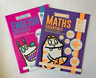 Leap Ahead English And Maths Workbooks Age 4-5 Year with Activities and Stickers