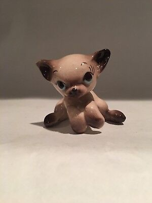 Vintage Freeman Mcfarlin Minature Siamese Hanging #818
