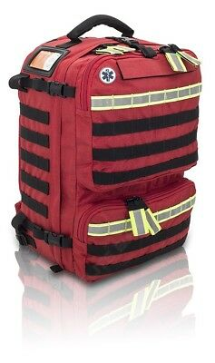 Paramedic Rescue Bag - Elite Bags - Red - Advanced Life Support