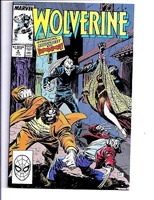 Wolverine #4 1989 1st APPEARANCE OF BLOODSPORT & ROUGHOUSE VF/NM