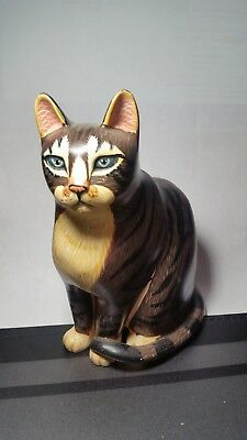 Vintage Enseco Tyber Cat Collectible Limited Edition 1997
