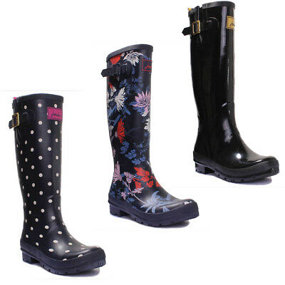 JOULES Molly Mid Height Wellies French Navy Dogs Sz 5 /& 6 RRP£44.95 FreeUKP/&P