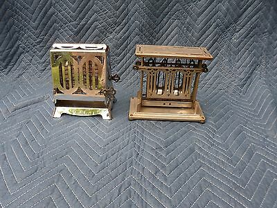 Pair of Antique Toasters: Universal, 1920-30's