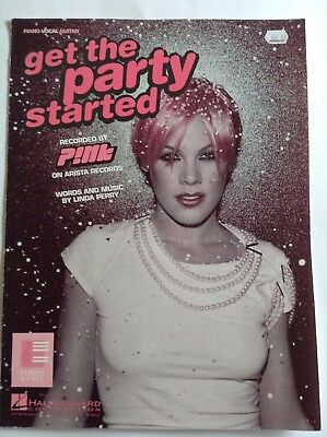 PINK - GET THE PARTY STARTED Sheet Music
