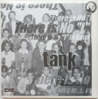 """The Tank - There Is No """"I"""" In Band LP COLOURED Brown Lobster Gameface O.C. Punk"""