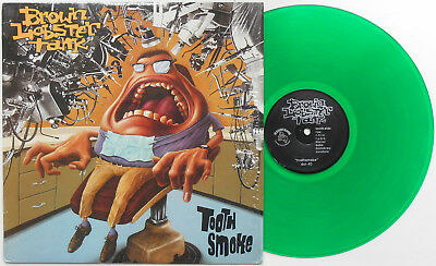 Brown Lobster Tank ‎- Tooth Smoke LP GREEN WAX Gameface Big Drill Car O.C. Punk