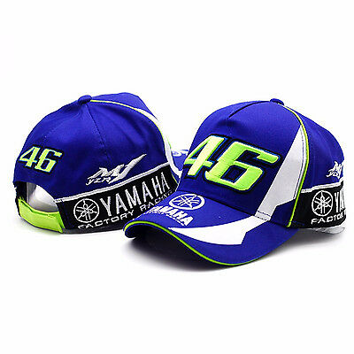 Baseball Cap Valentino Rossi VR 46 Yamaha Moto GP Racing High Quality Hat