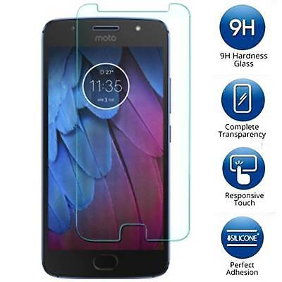 9H Tempered Glass Screen Protector Guard Shield Saver For Motorola Moto G5S Plus