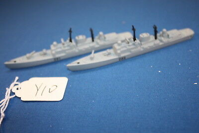 HMS Exeter and HMS Nottingham Type 42 destroyers Royal Navy unboxed