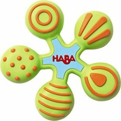 HABA Clutching Toy Star Silicone Teether  6 months and Up Autism Sensory Chew