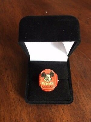 1950's Mickey Mouse Club Flicker Ring, Disney