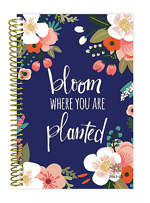 bloom daily planners 2017-18 Academic Year Daily Planner – Weekly and Monthly Da