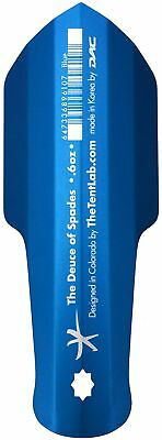 The Tentlab The Deuce of Spades Backcountry Potty Trowel, Blue, New