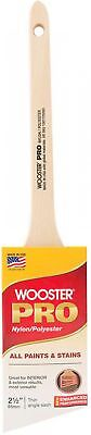 Wooster Pro 2-1/2 in. Nylon/Polyester Thin Angle Sash Brush