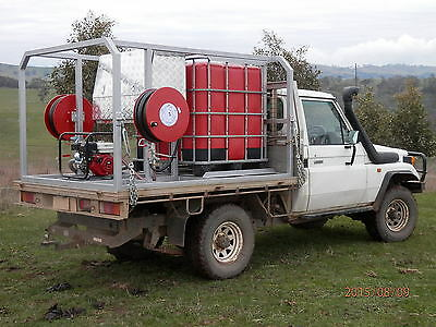 Fire Fighting Appliance For 4Wd Utility Vehicles