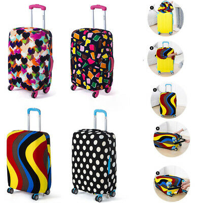 18-28inch Travel Luggage Cover Protector Elastic Suitcase Dustproof Bag Surprise