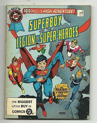 Best of DC Blue Ribbon Digest #44 - Superboy - Legion of Super-Heroes VG 4.0