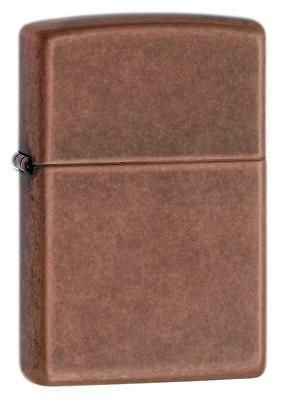 Zippo Windproof Antique Copper Lighter, 301FB, New In Box