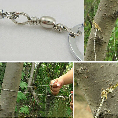 BL_ Emergency Survival Gear Steel Wire Saw Camping Hunting Climbing Gear Seraphi