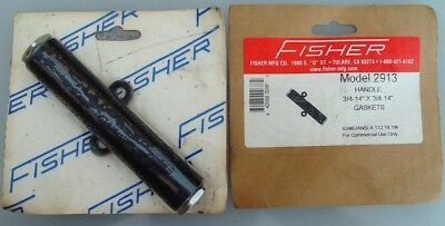 "Fisher model 2913 insulated handle with gaskets for pre-rinses 3/4-14"" x 3/4-14"""