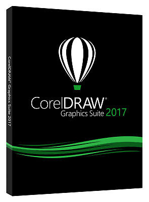 CorelDRAW Graphics Suite 2017 COMMERCIAL VERSION (NEW)