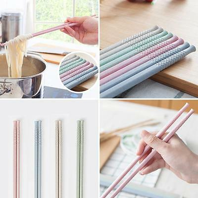 BL_ Long Noodle Deep Fried Hot Pot Wheat Straw Chopsticks Chinese Tableware Sple