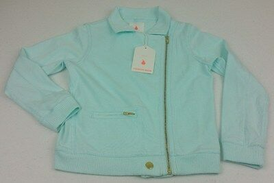 Country Road Child Girls Aqua Bomber Jacket - Size 5 - New with Tags Kids A010