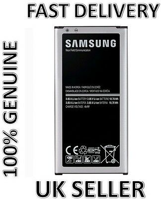 NEW GENUINE SAMSUNG BATTERY 2800 mAh FOR SAMSUNG GALAXY S5 G900F G900H