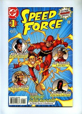 Speed Force #1 - DC 1997 - VFN+ - 64 Page Giant 1st App Cobalt Blue - The Flash