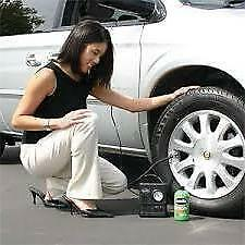 Smart Spare Wheel Tyre Inflator Puncture Repair fits PORSCHE + Free Gift