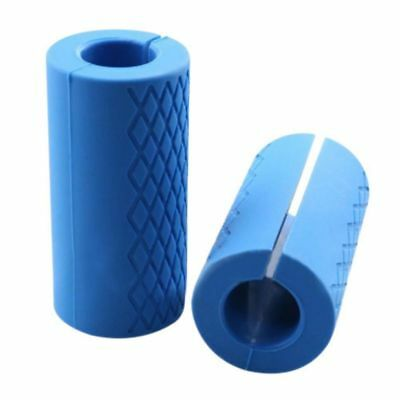 Thick Bar Grips Turns Barbell, Dumbbell, and Kettlebell Fat Bar Training Mustle