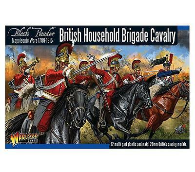 Warlord Games Napoleonic British Household Cavalry Brigade 28mm Scale Miniatures