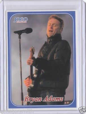 2003 Jogo CFL Bryan Adams #270 Regina Grey Cup Performer - rare unreleased card