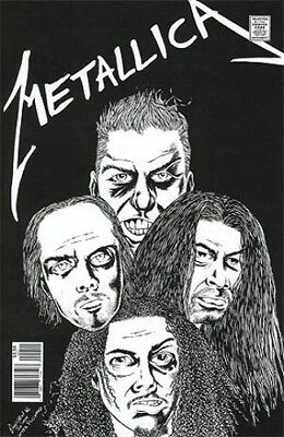 METALLICA Rock and Roll Biographies | One-Shot Acme Ink NM 1st Print Comic Book