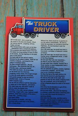 Postcard The Truck Driver