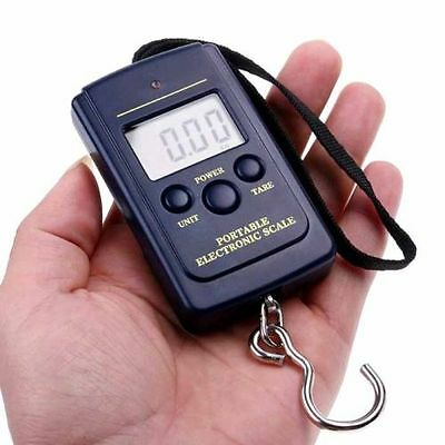 New 40kg 10g Electronic Hanging Fishing Luggage Pocket Digital Weight Scale ju