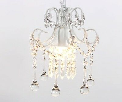 Mini Rustic Crystal Chandelier Ceiling Pendant Lights Elegant Lighting 1-Light