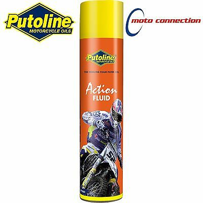 PUTOLINE ACTION FLUID 600ml AIR FILTER OIL EASY TO USE BETA 250RR 300RR 2014