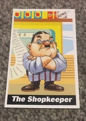 The Shopkeeper Codemasters Collectible Card - no. 16
