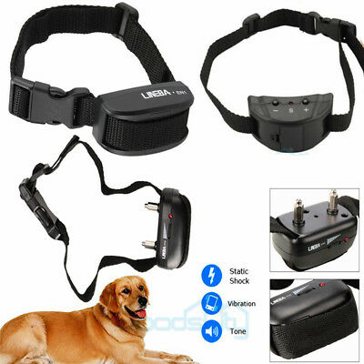 Anti Bark No Barking Training Tone Collar Shock Control 4 Small Medium Large Dog