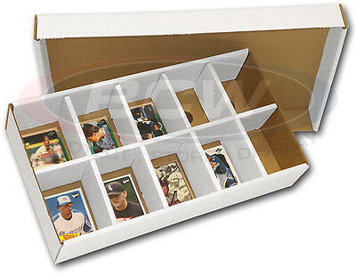 Trading Card Sorting Tray Storage Box, 3 Box Pack