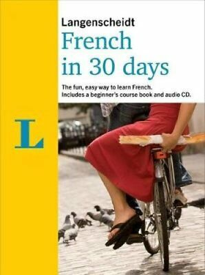 French in 30 Days by Langenscheidt (CD-Audio, 2017)