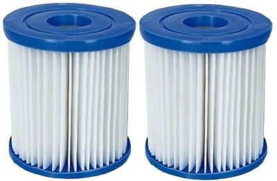 58093 Bestway Filter Cartridge Twin Pack for 330gph Pool Pump - Size I