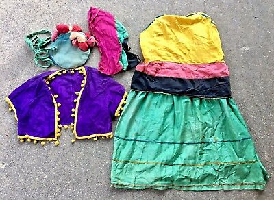 Vintage Gypsy Costume Waas and Sons Philadelphia Theater Costume